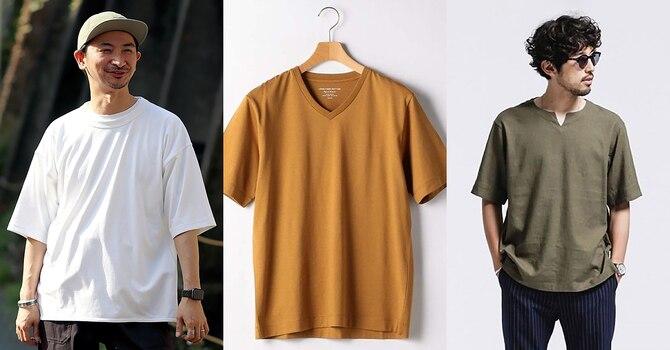 夏本番!メンズTシャツ9選