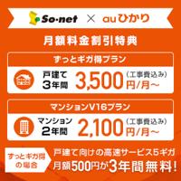 So-net光(auひかり)