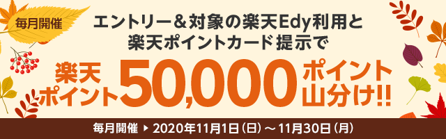 50,000ポイント山分け