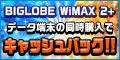 もらえるモール|BIGLOBE WiMAX 2+